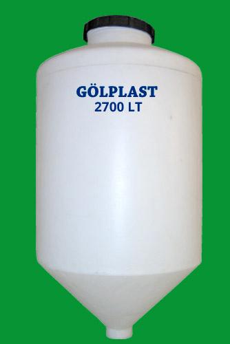 konik su deposu - conical water tank